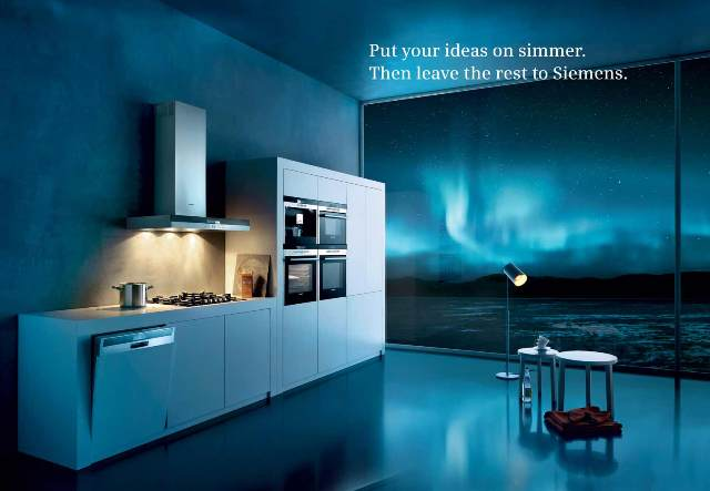 Siemens is the number one brand of built-in appliances in Europe.