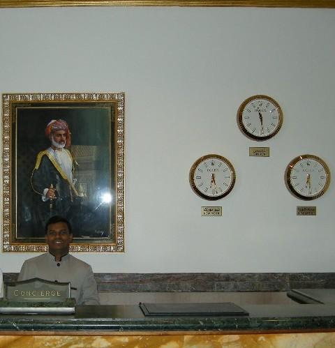Rolex Wall Clocks Dazzle At Grand Hyatt Reception Khimji