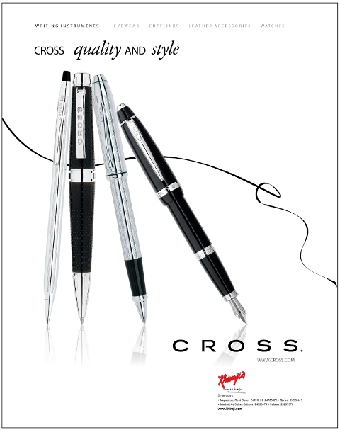 Technological forerunner of the modern ball point pens