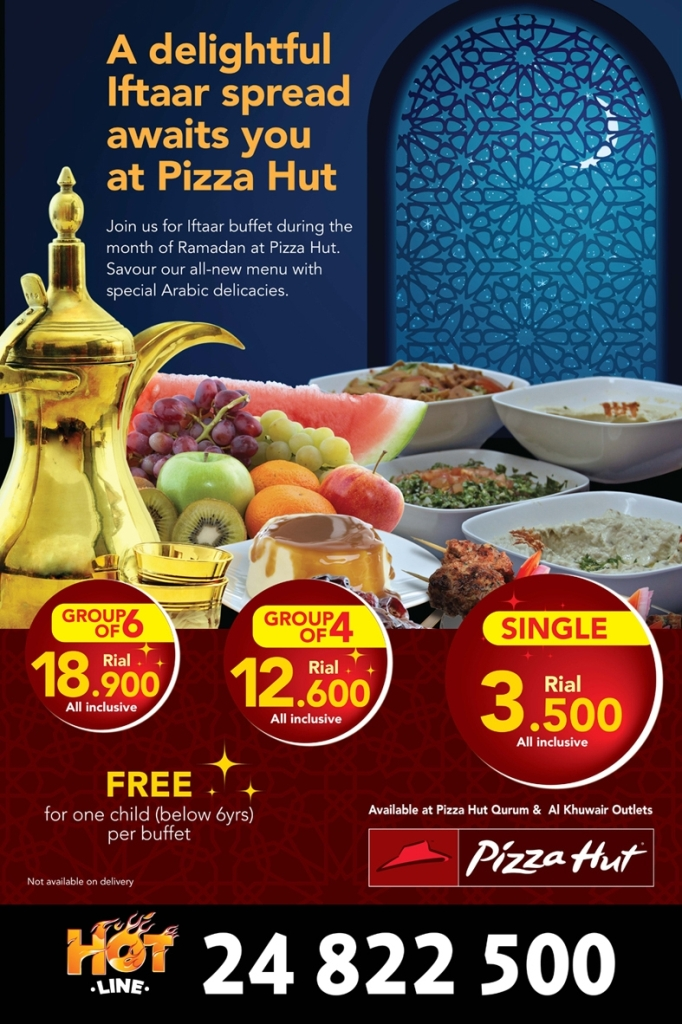 Celebrate Iftar At Your Families Favourite Pizza Hut Restaurant