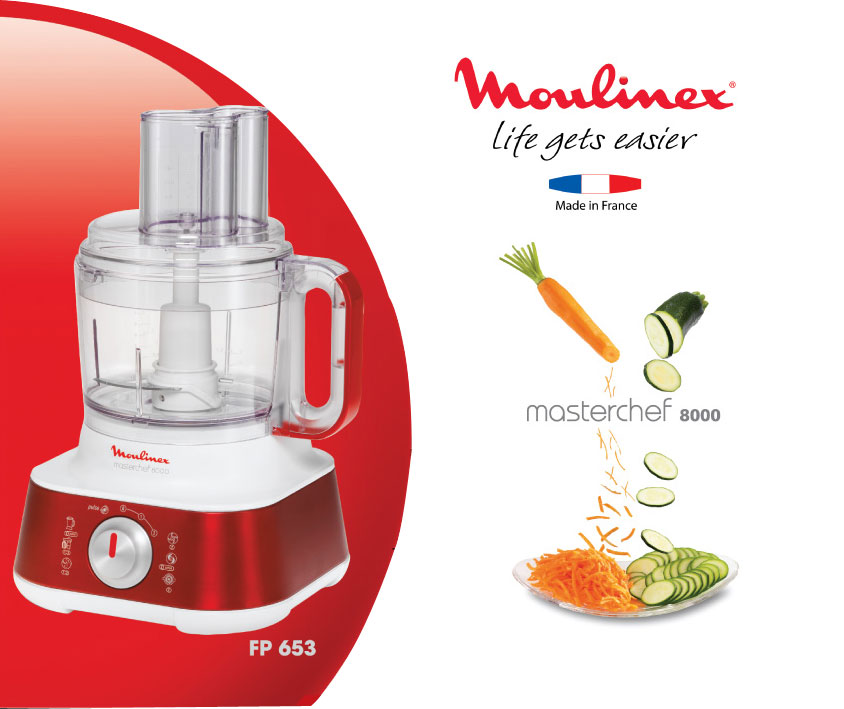 Gourmet Kitchen Appliances MOULINEX