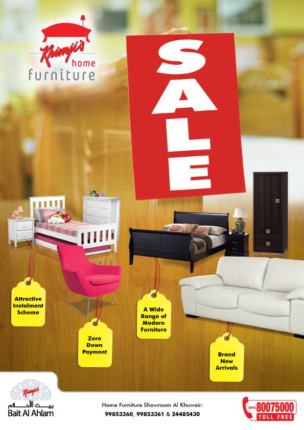 Furniture sale advertisement Office Furniture Syoknya Malaysia Sale At Khimjis Home Furniture Showroom Al Khuwair
