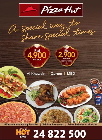 Pizza Hut Special Iftaar Buffet