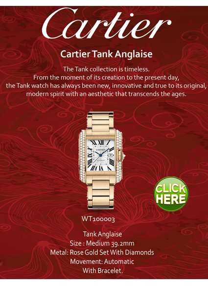 Cartier - Tank collection