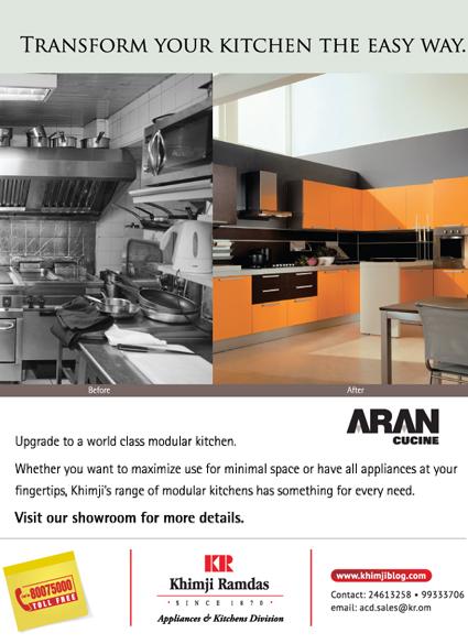 Khimji s appliances kitchens khimji ramdas bright sparks for Italian kitchen brands