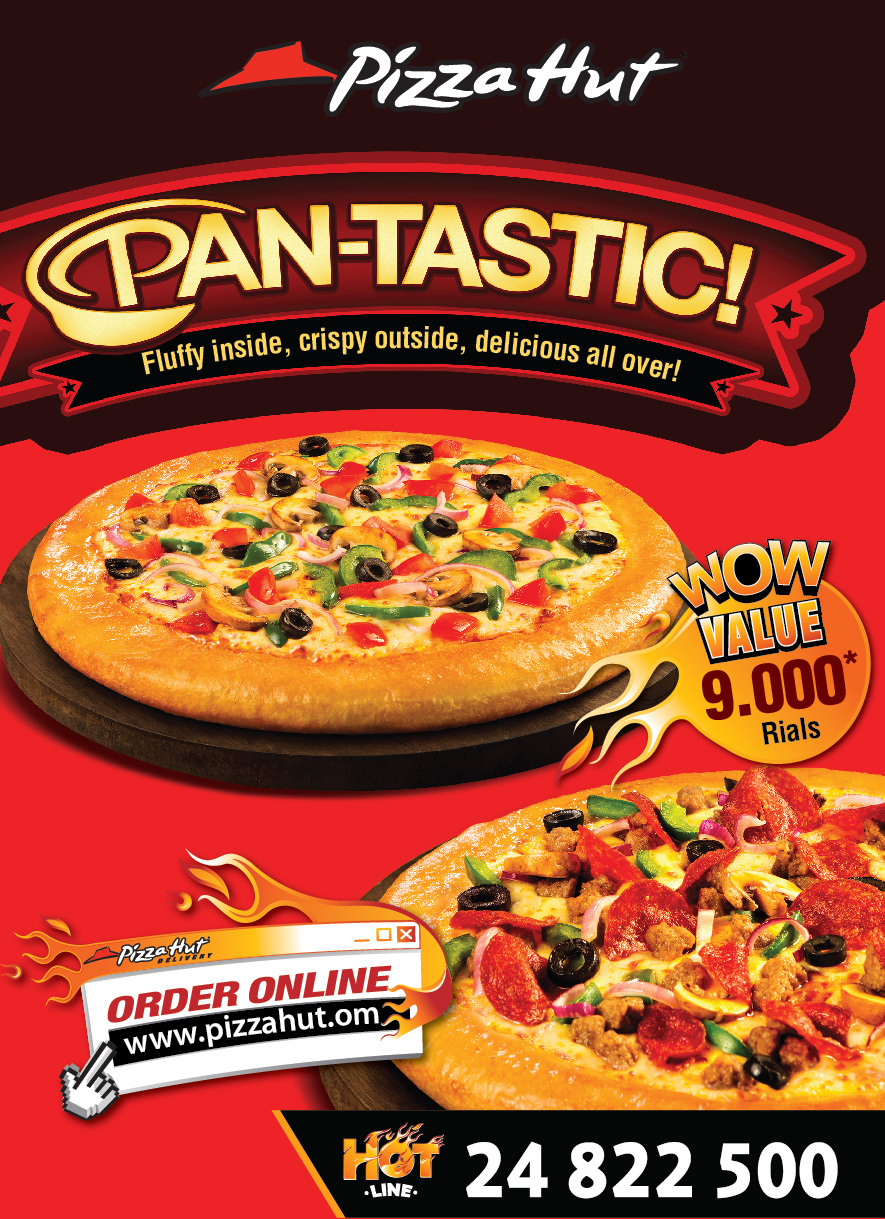 Advertising objectives of pizza hut