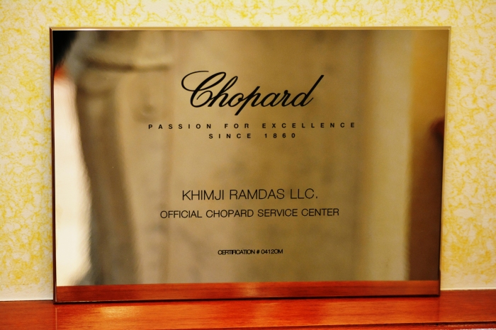 chopard certificate