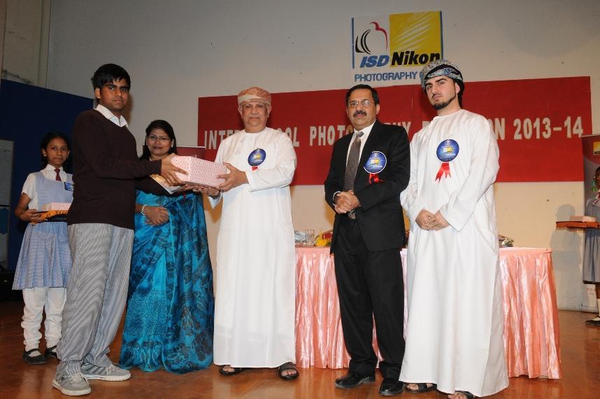 Indian School Darsait organized its 3 rd Annual ISD Nikon Inter School