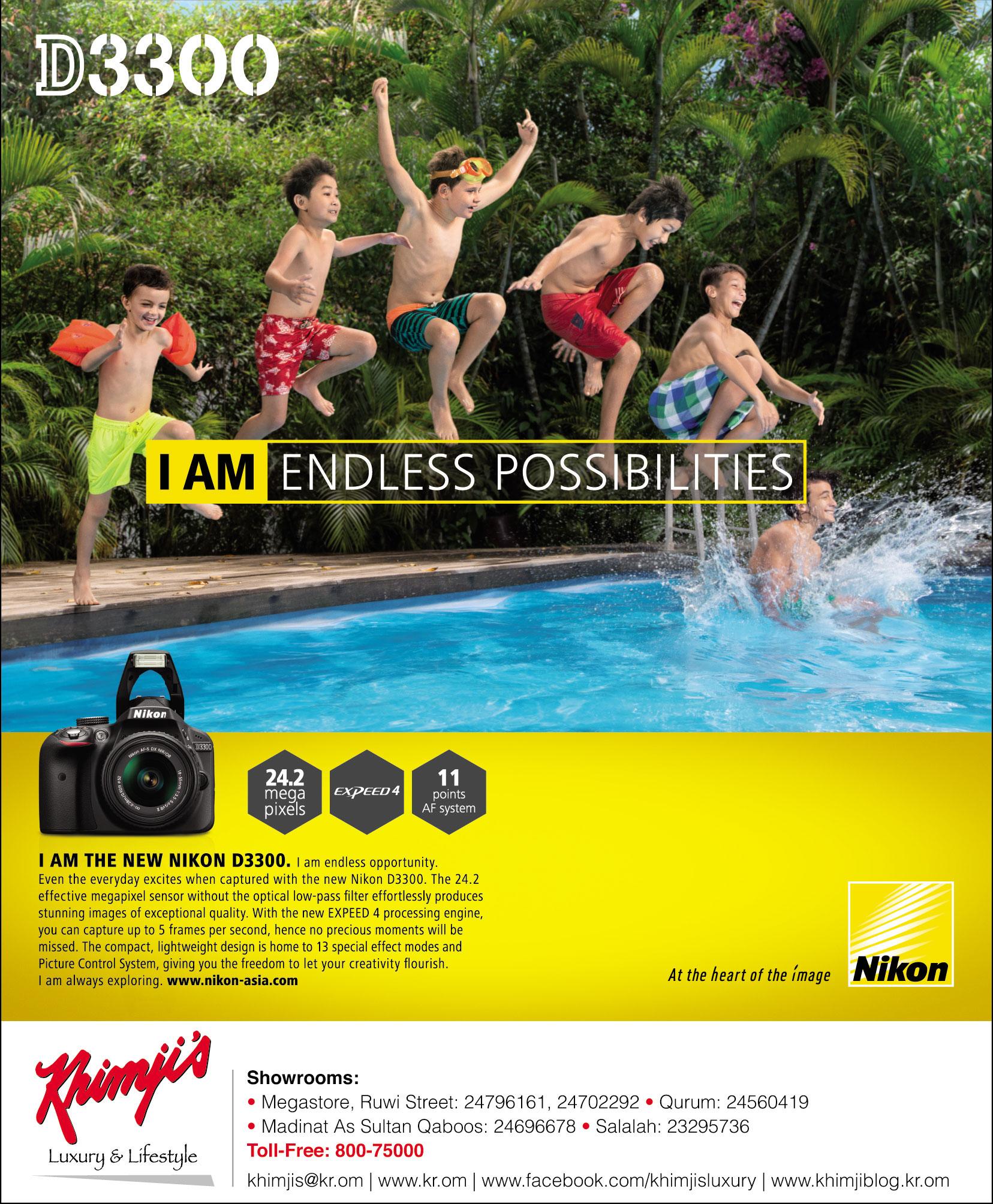 Nikon D:3300 I am endless possibilities