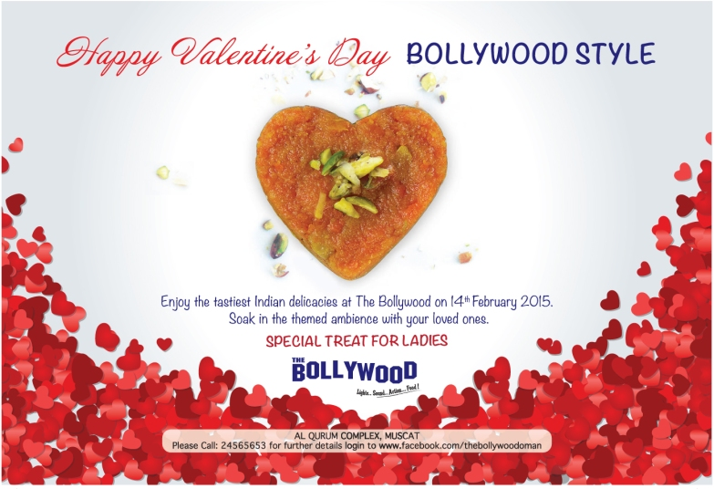 +Bollywood Valentine's ad FACES Mag