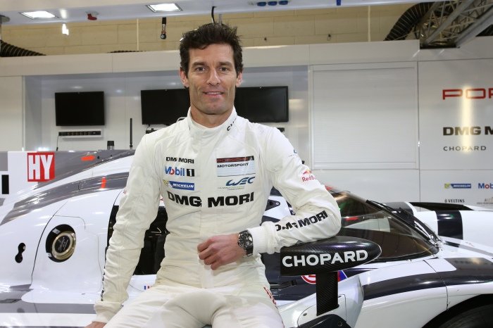 Mark Webber - Porsche Motorsport Driver and Chopard ambassador
